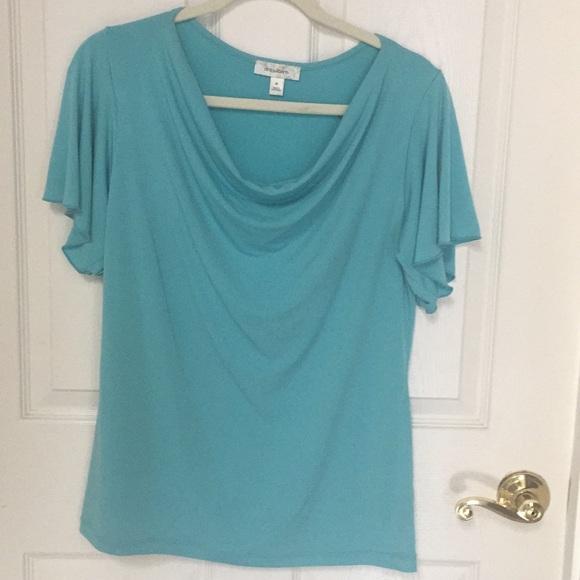 Dress Barn Tops - Short sleeve blouse